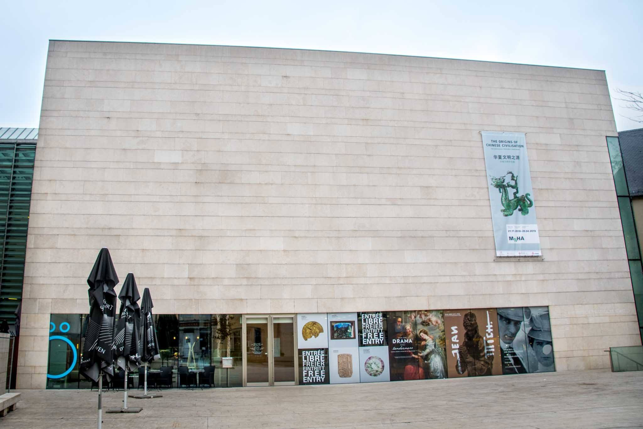 Exterior of the Luxembourg National Museum of History and Art
