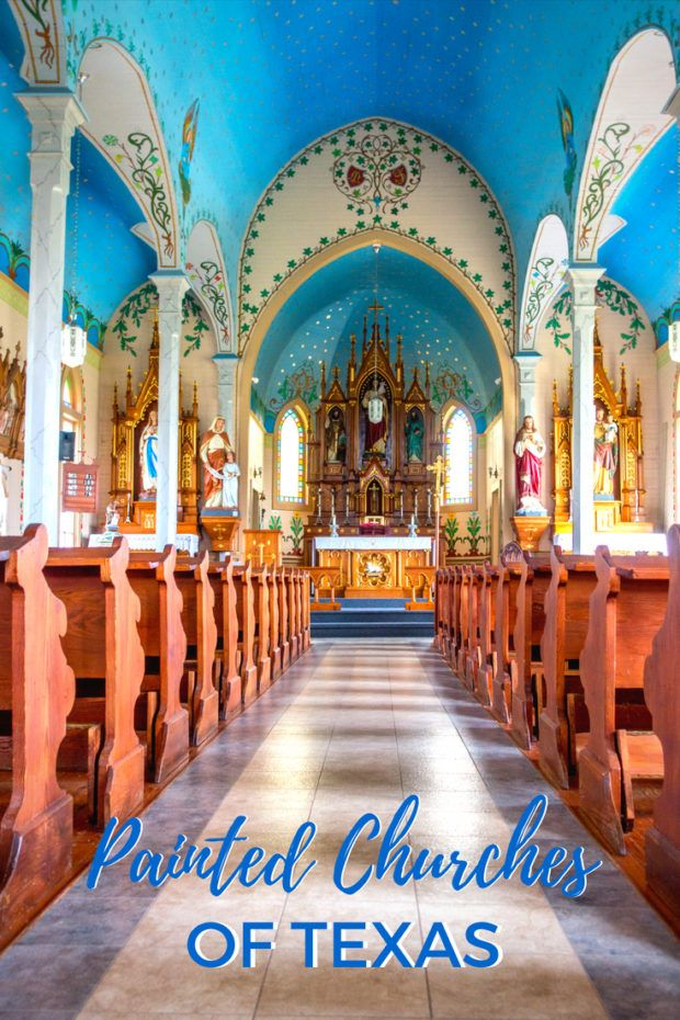 The Intriguing Beauty of the Painted Churches of Texas