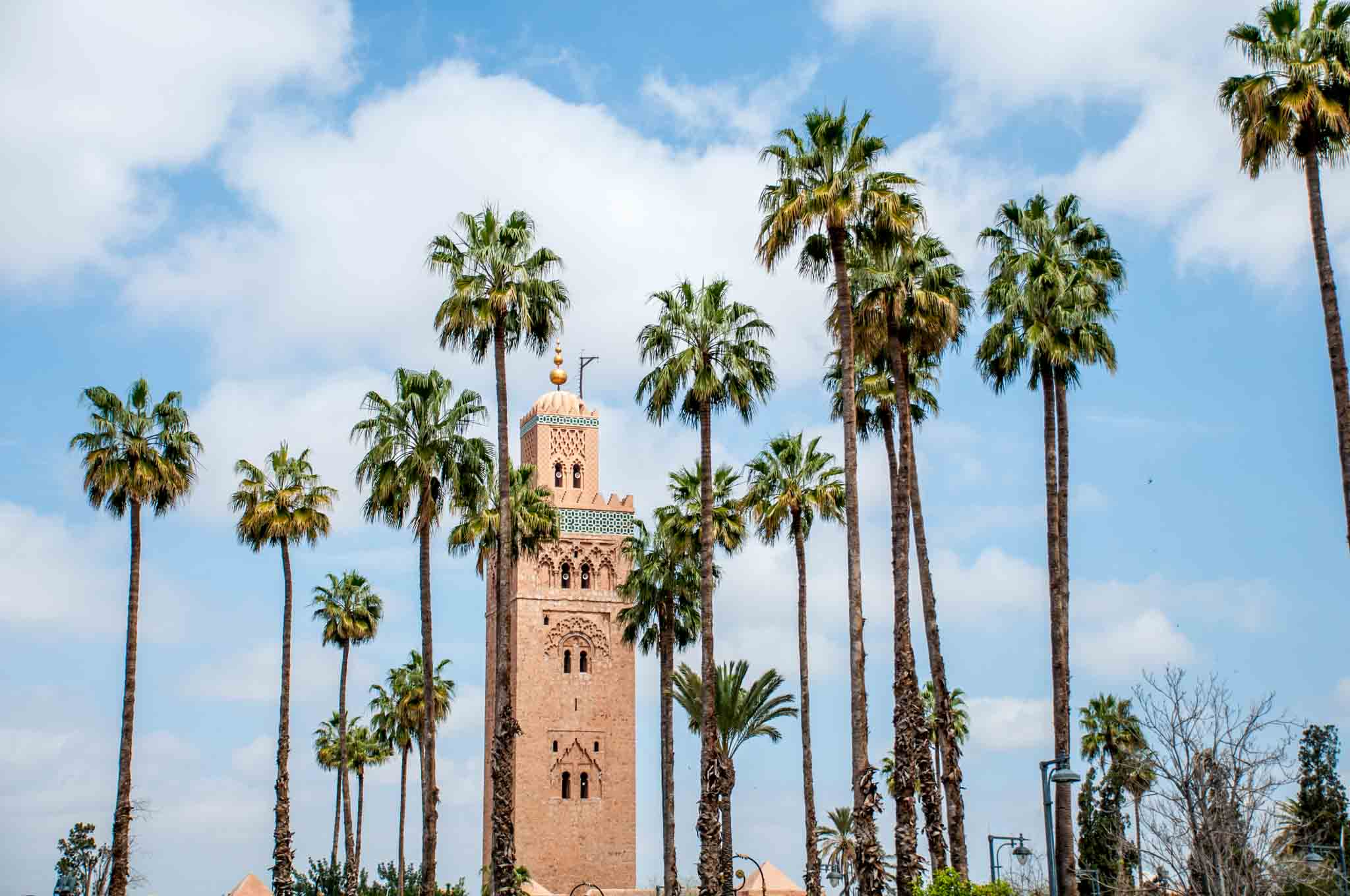 Visiting sites like the Koutubia in Marrakech are a fun part of Morocco travel