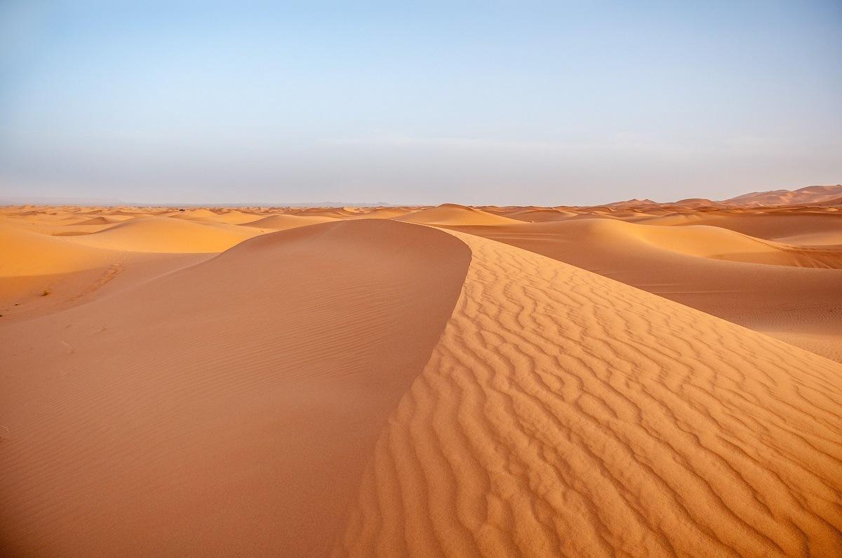 Sand dune of Erg Chebbi