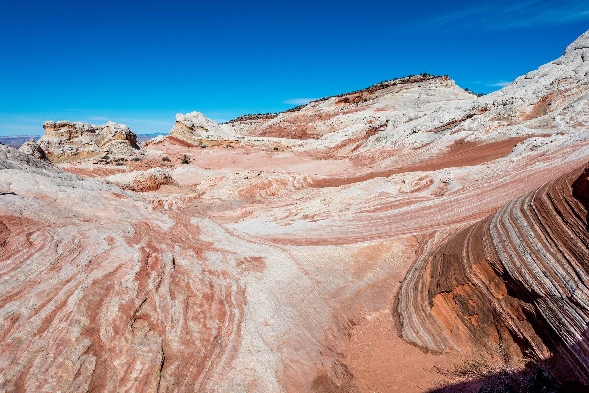 Sandstone rock formations in Arizona