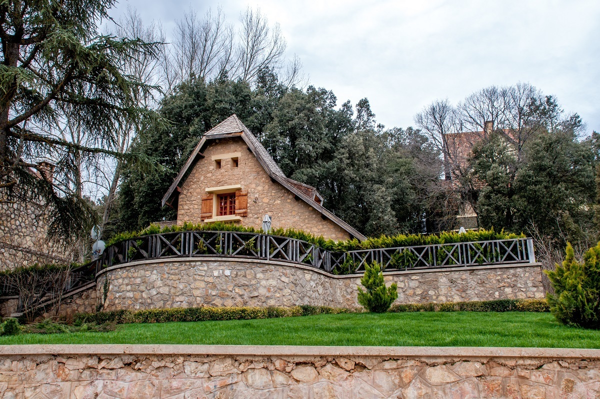 Stone home in Ifrane, Morocco