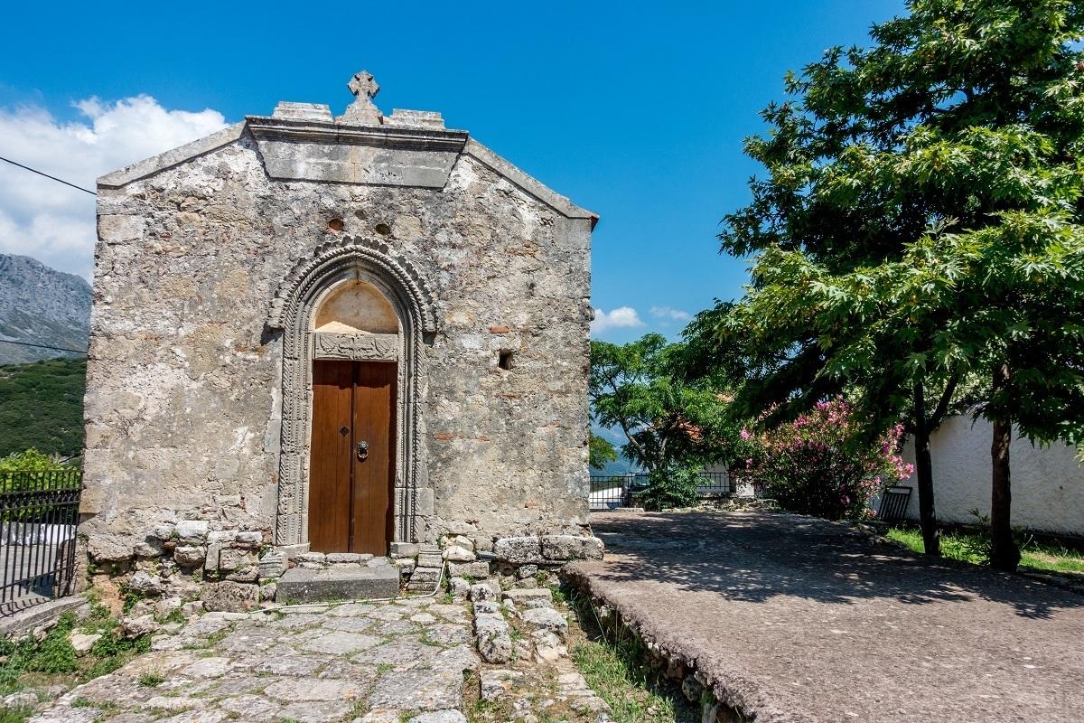 Small stone 14th-century chapel
