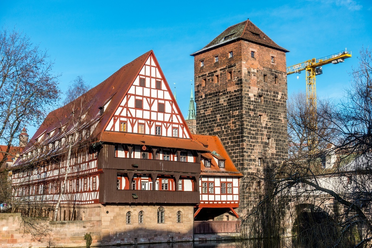Largest half-timbered building in Germany