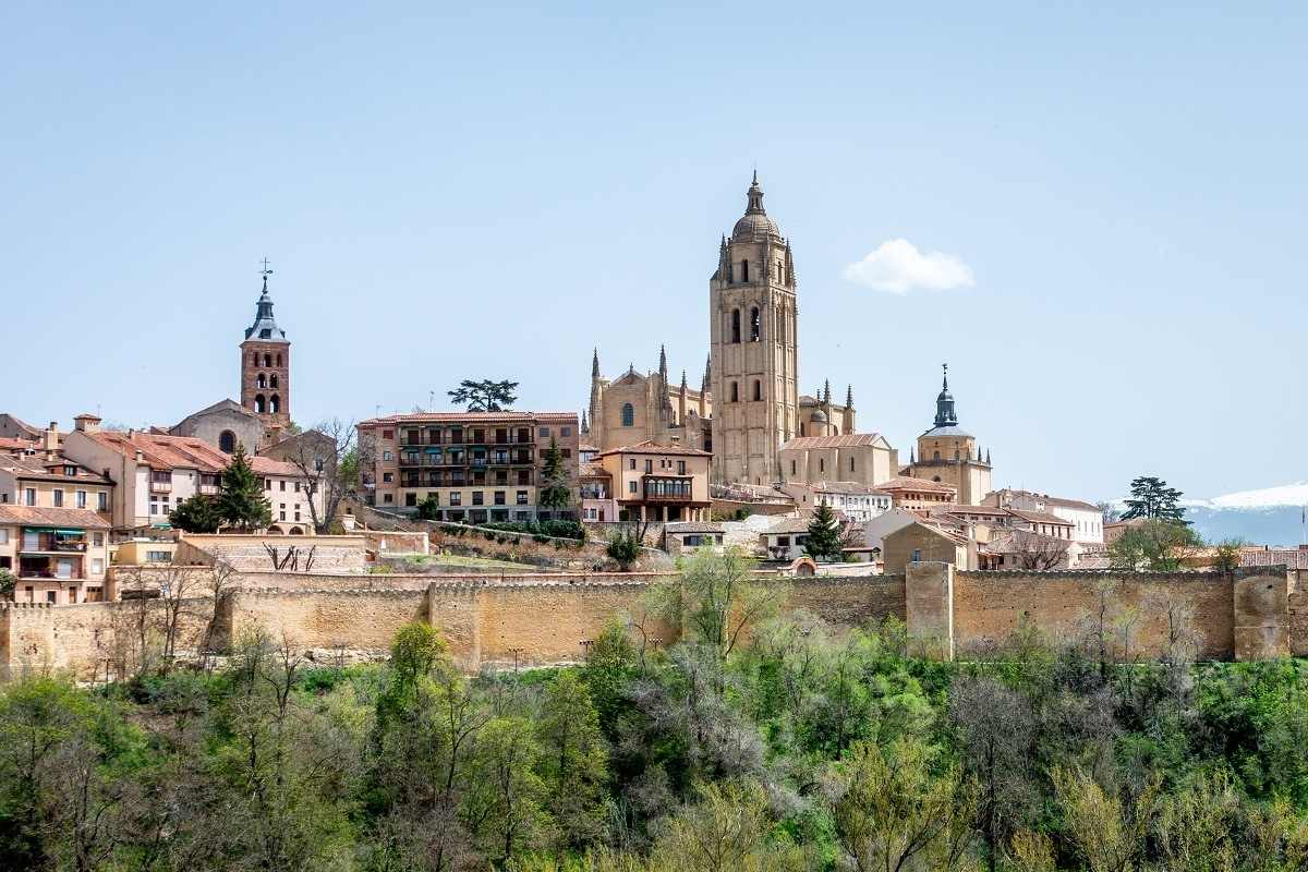 Segovia Cathedral is one of the sites to see on a Madrid to Segovia day trip