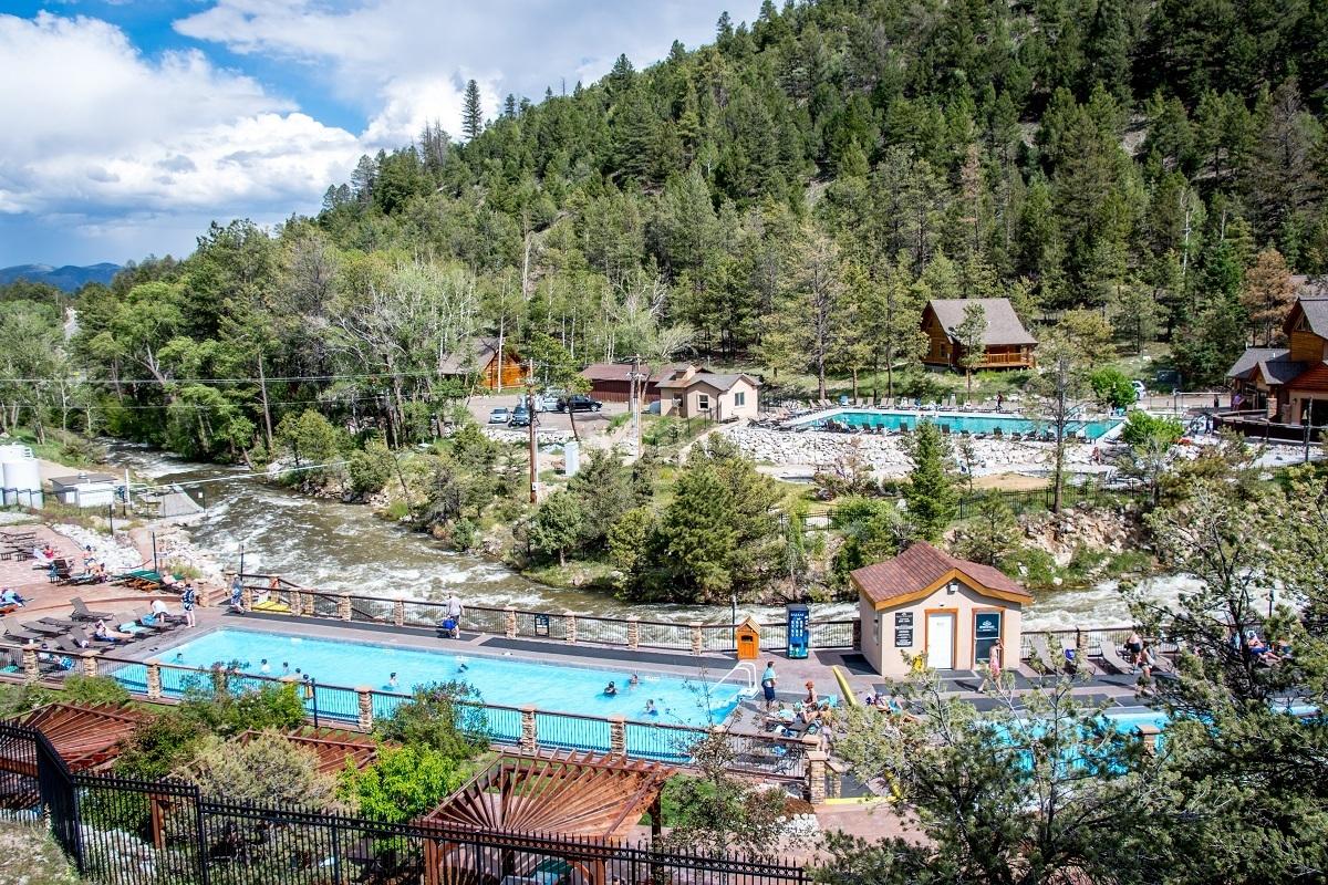 The Mount Princeton Hot Springs Resort in Nathrop