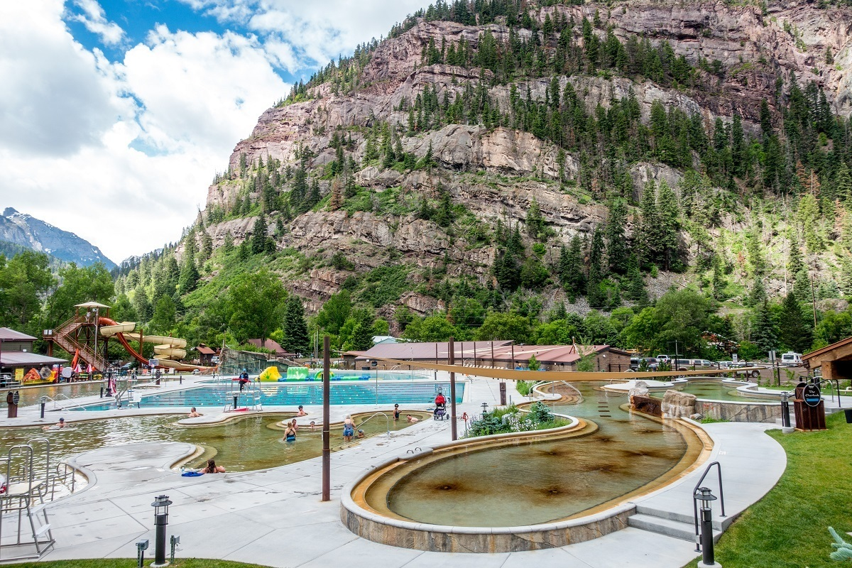 The Ouray hot springs pool