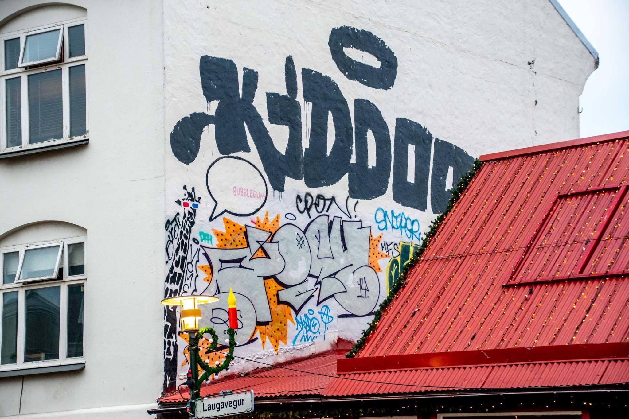 The Reykjavik street art hall of fame