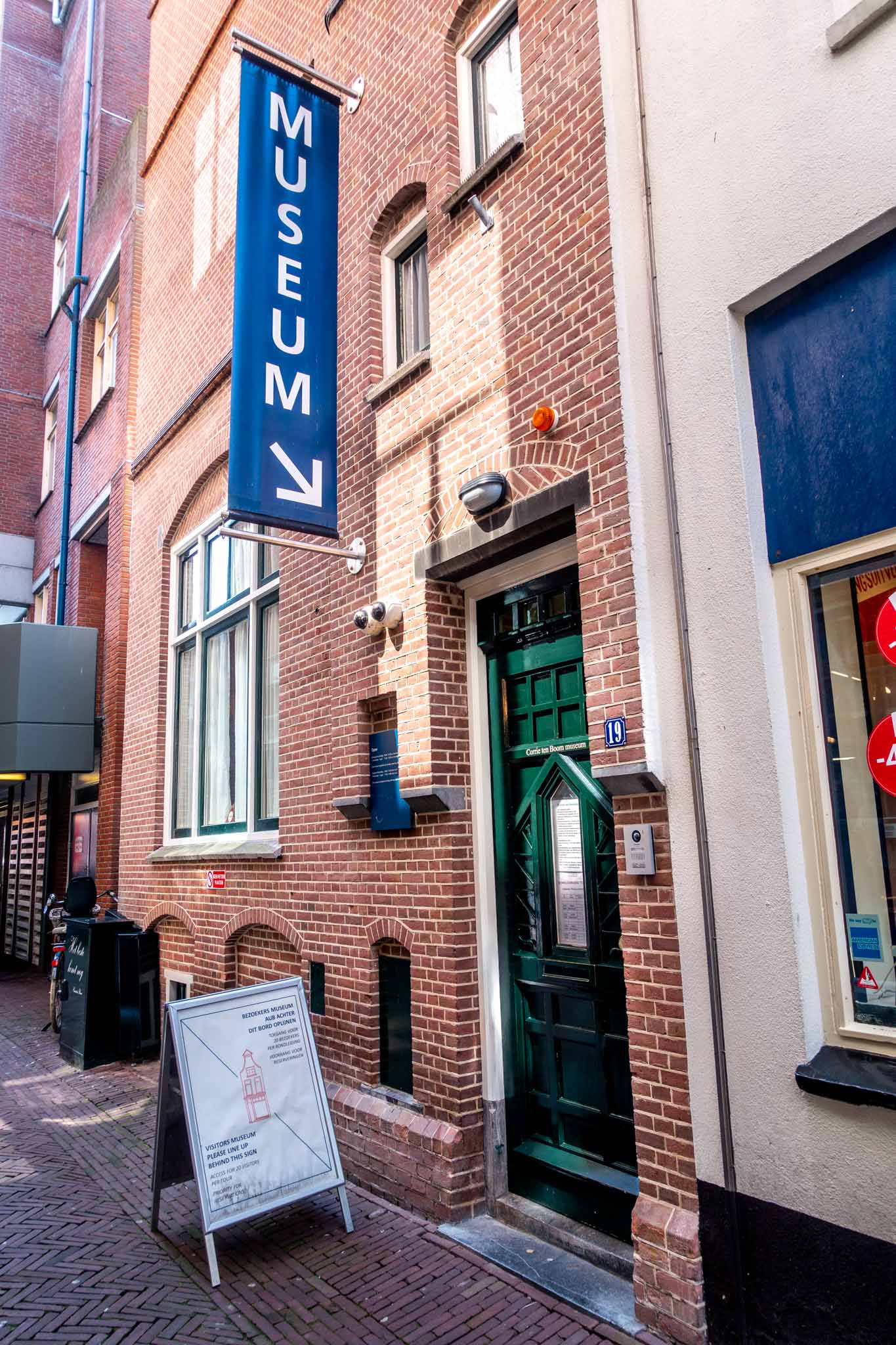 """Exterior of a building with a sign that says """"Museum"""""""