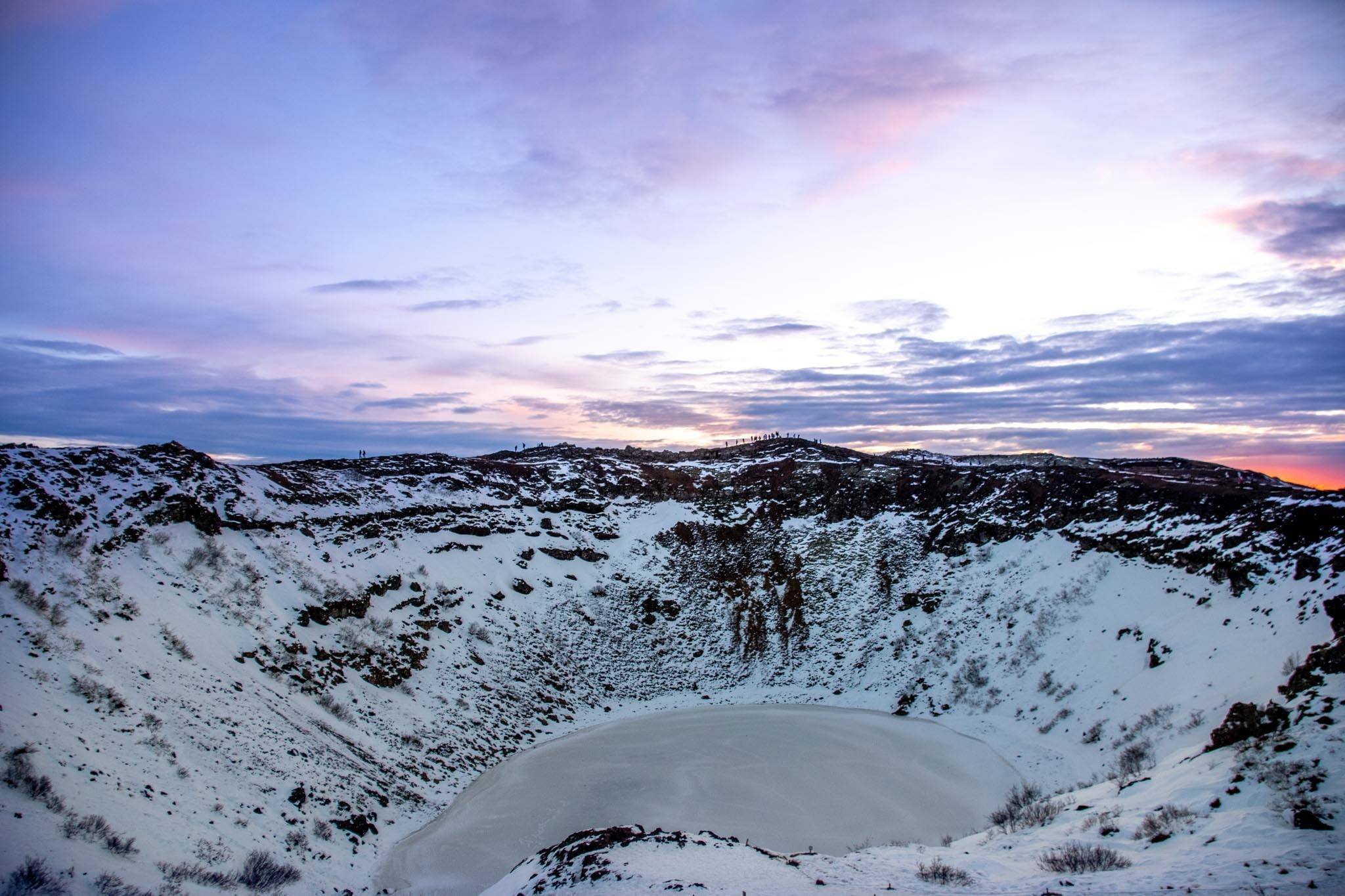 Kerid Crater on the Golden Circle