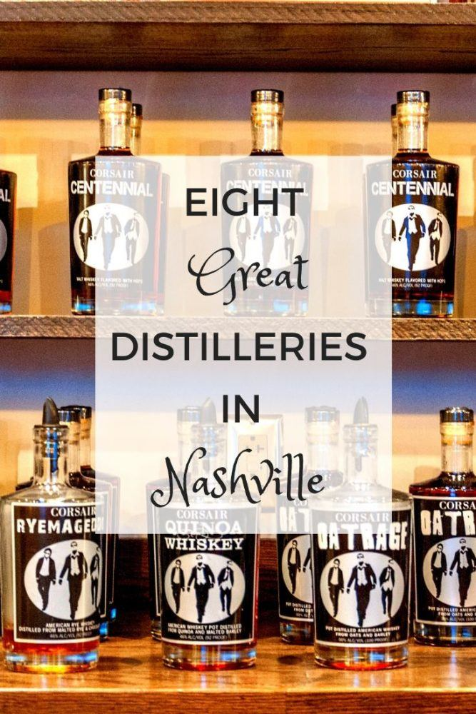 Wet Your Whistle at Eight Nashville Distilleries