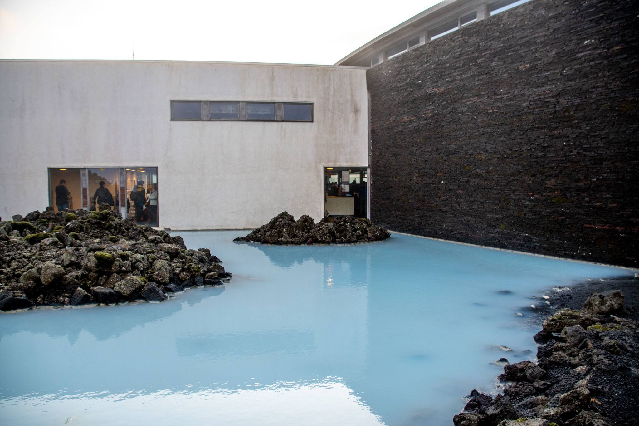 The architecture of the spa