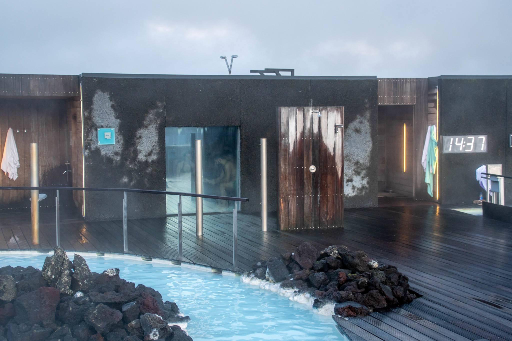 The saunas