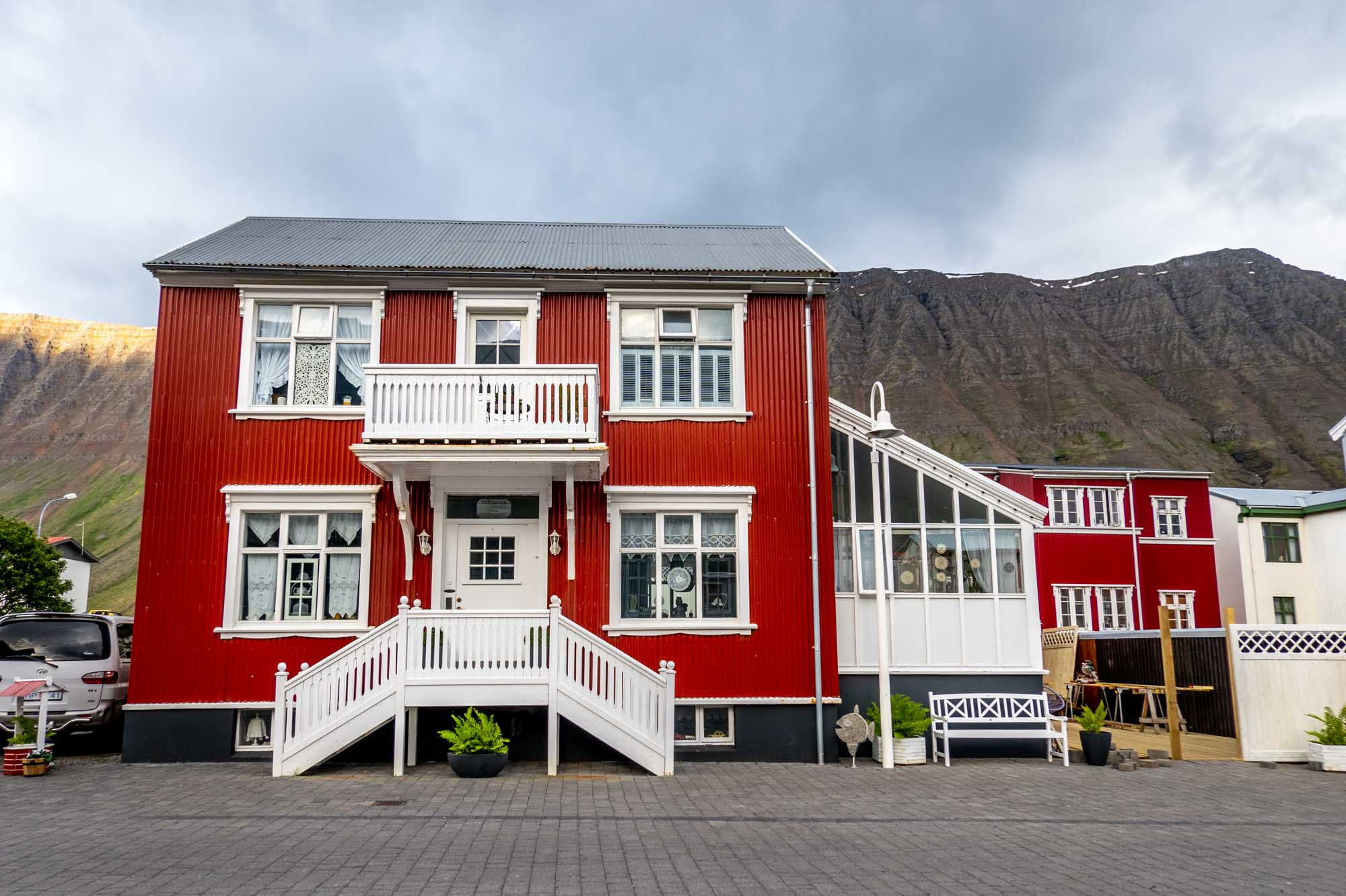 Red house in Isafjordur