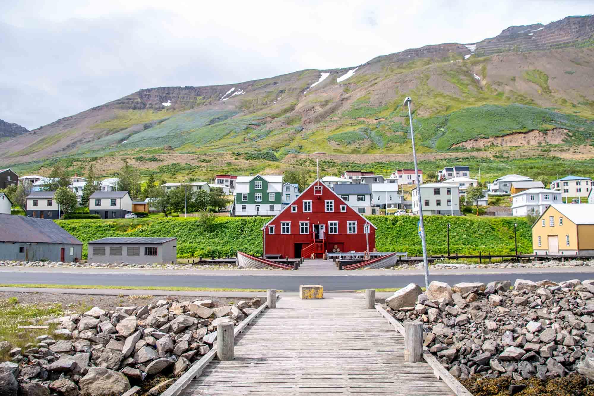 Red herring museum in Siglufjordur