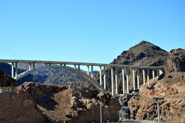 The Pat Tillman Memorial Bridge at Hoover Dam