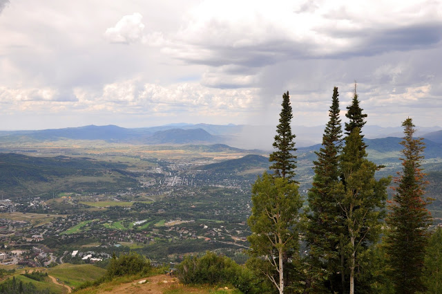 A Summer Rain Storm in the Yampa River Valley