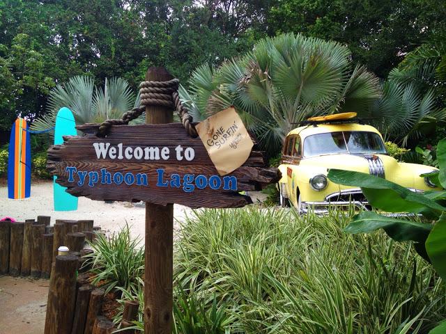 Entrance sign to Disney's Typhoon Lagoon