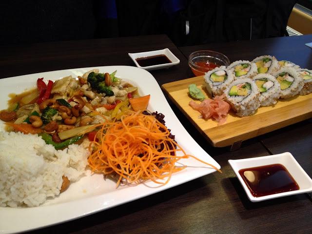 Sushi lunch at Tokori restaurant in the Naschmarkt