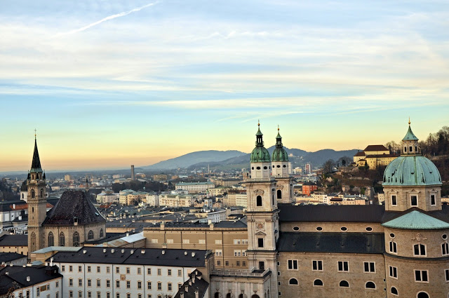 View of the Salzburg Old Town