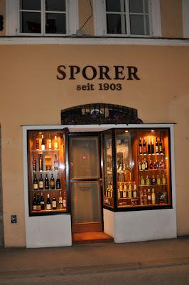The Sporer liqueur distillery in Salzburg