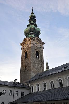 The Church Tower in Salzburg