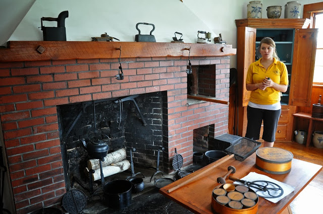 Kitchen in the LaPorte House